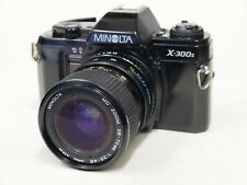 Minolta X-300s SLR Camera & 28-70mm MD Zoom Lens. Stock No u11533