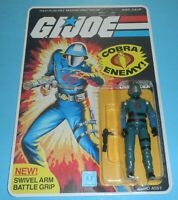 1983 GI Joe Cobra Commander v1.5 Complete Sealed MOC *CUSTOM* Card Back *READ*