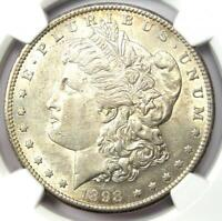 1898-S Morgan Silver Dollar $1 - NGC Certified - AU / UNC MS Details - Rare Date