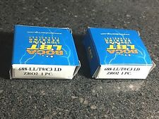 1 pair Boca Bearing 688-LL/T9/C3 LD ZRO2 Radial Full Ceramic Bearings 8x16x5 mm