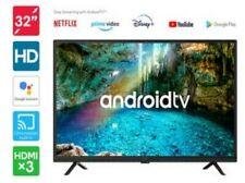 "Kogan 32"" LED Android TV + YouTube + Netflix + Google Assistant Voice Control ,,"