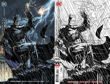 Justice League #1 Jim Lee Color + Ink Variant Set of 2 Comic Books DC 2018 NM