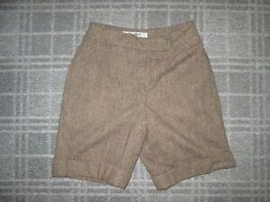 GABLER-ladies vintage BERMUDA CHINO Shorts/culottes size 6-8 HIGH WAIST LINED