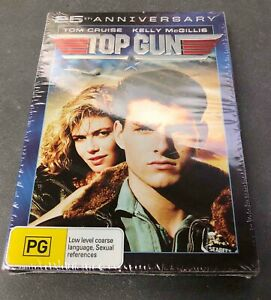 TOP GUN Tom Cruise BRAND NEW and SEALED 25th ANNIVERSARY 2Disc Edition Region 4