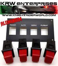 82 PONTIAC FIREBIRD KNIGHT RIDER KITT K2000 KARR PANP SET WITH ALUMINIUM OVERLAY