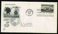 Scott # c34 FDC 10 cent air mail