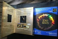 The Lord of The Rings Trilogy blu ray Steelbook Best Buy empty case & One Ring!