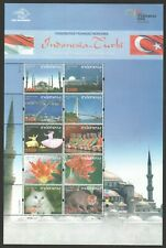 INDONESIA 2008 TURKEY JOINT ISSUE (CAT, DANCE, BRIDGE & MOSQUE) SOUVENIR SHEET