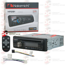 NAKAMICHI SINGLE DIN CAR AUDIO WMA MP3 CD USB AUX IN DASH RECEIVER STEREO