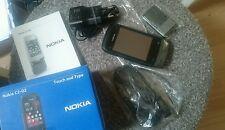 Nokia  C2-02 - Schwarzer Chrom (Ohne Simlock) Handy Top Zustand!!