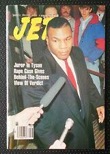 Jet Magazine March 2 1992 Vol 81 No 19 Mike Tyson Rape Case Verdict Cover
