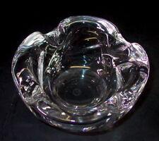 CRISTALLERIE LORRAINE France Francia-Massiccio cristallo vetro vetro guscio