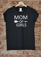 Mom Of Girls Shirt Mother's Day Gift Mama Funny Tee Arrow Women T-shirt S-XXXL