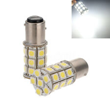 2x 1157 BAY15D P21/ 5W 27 SMD5050 LED Feux de freinage Blanc Stop Ampoules 12V