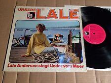 LALE ANDERSEN - UNSERE LALE - SINGT LIEDER VOM MEER - LP - DIE  VOLKSPLATTE