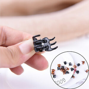 24x Hair Clips Clipper Clamp For Women Plastic 6Claws Hairpin Hair Styling TooFY