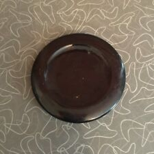 Antique Amber Glass Apothecary Jar Lid