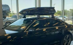 Audi A4 Cargo Roof Carrier (Black) - Compact, Capacity 300L UFO 8V0071200Y9B