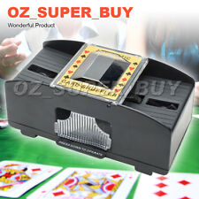 Automatic Poker Card Shuffler Battery Operated Game Playing Shuffling Machine