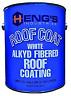 American Motorhome RV Hengs Alkyd White Fibred Roof Coating 1 US Gal  45128-4