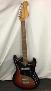 Vintage TEISCO DEL REY Electric Guitar - Sunburst