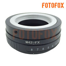M42-FX Tilt Adapter M42 Screw Mount Lens to Fujifilm Fuji X-Pro1 FX T10 T1 E2 E1