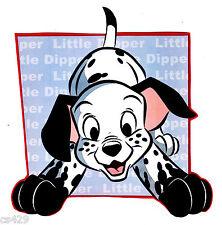 "4"" Disney dalmatians little dipper stretch dog peel & stick wall border cut out"