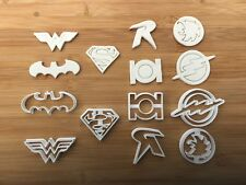 Super Heroes 010 cup cake or cake decoration fondant cookie cutters