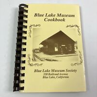 Community Cookbook Recipe Collection Blue Lake Museum Society Vintage 1990