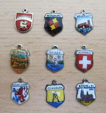 9 Wappen - Anhänger für Bettelarmband  ( 2 )
