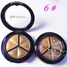 Smoky Makeup 3 colors natural matte eyeshadow Metallic eye shadow palette Kits N