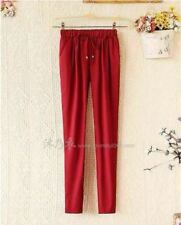 COLORED PANTS (MAROON)