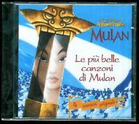 Le Piu' Belle Canzoni di Mulan CD Disney