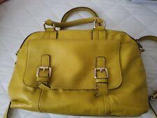 Boden Daffodil Yellow Leather Handbag