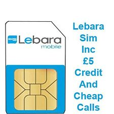 Lebara Sim Card With £5 Calling Credit!