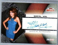 TNA SoCal Val 2009 Impact SILVER Authentic Autograph Card