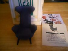 """Take a Seat"", by Raine, Slope Wingback, New, Miniature Chair"