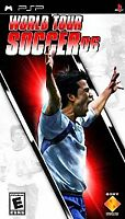 World Tour Soccer 06 PSP Kids Playstation Portable Complete