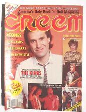 Vintage 1981 CREEM MAGAZINE Music NEWS The Kinks Interview RICK JAMES Van Halen