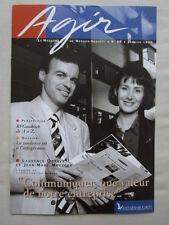 REVUE MESSIER BUGATTI AGIR N°86 1/96 BFGOODRICH BOITIER ACCROCHAGE COMMUNICATION