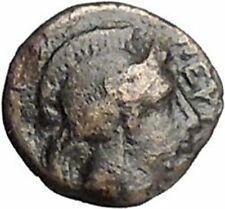 PERGAMON in MYSIA 310BC Hecules Athena Authentic Ancient Greek Coin i48668