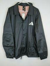 Adidas The Pack Coaches Jacket, Black, Men's XL