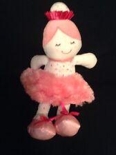 "Baby Gear Doll Plush Furry Pink Tutu Skirt Stuffed Animal Lovey Toy 13 """