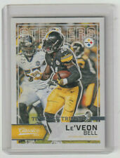 Le'VEON BELL Steelers 2016 Classics TIMELESS TRIBUTES #90 SP Parallel #09/25