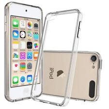 (2 Pack) For iPod Touch 5th Gen Case Clear Silicone Ultra Slim Gel Cover