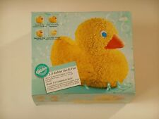 Wilton 3-D RUBBER DUCKY DUCK Stand Up Cake Pan Mold Baby Shower Party #2105-2094