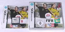 Spiel: FIFA 11 2011 FUSSBALL für Nintendo DS + Lite + Dsi + XL + 3DS 2DS
