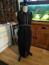 ASOS Black pencil wiggle Dress Size 10