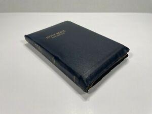 Vintage Holy Bible KJV Self-Pronouncing World Publishing Co Red Letter Edition*