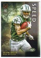 2015 Topps Valor Football Speed Parallel RC #196 Devin Smith New York Jets